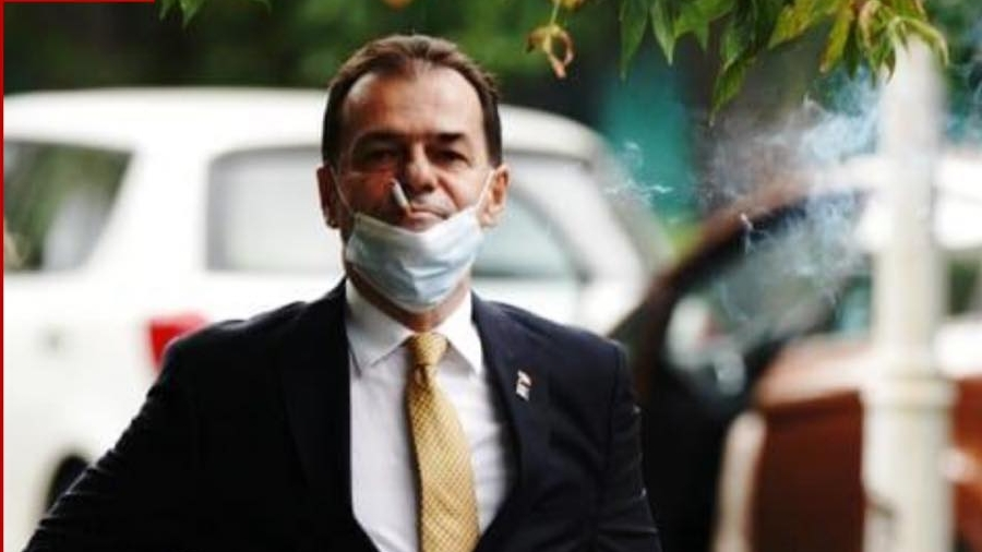 Orban fumand